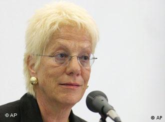 Glavna haška tužiteljica Carla del Ponte