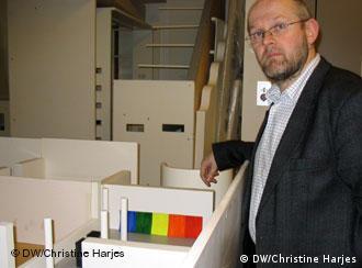 Kay Heymer, curador da exposição Guggenheim em Bonn