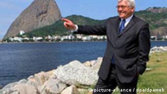 Frank Walter Steinmeier in Brasilien Rio de Janeiro