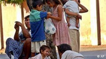 A pobreza afeta sobretudo as comunidades indígenas