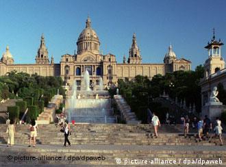 Barcelona's landmark National Museum of Catalunya