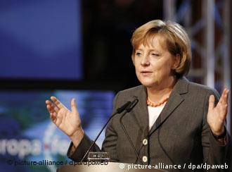 Merkel outlined her plans for the German EU presidency in Berlin