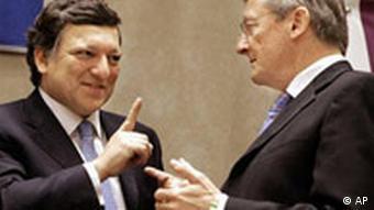 Europa Tag in Brüssel - Barroso und Schüssel