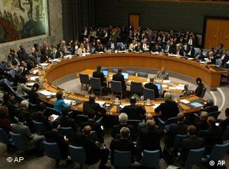 Sicherheitsrat (Quelle: AP)