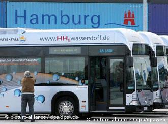 Autobusi na vodikov pogon u Hamburgu