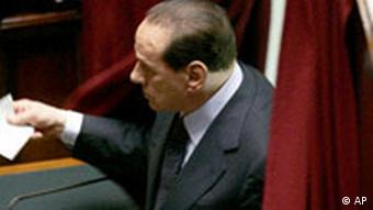Italien Präsidentenwahl Silvio Berlusconi