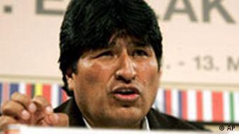 EU Lateinamerika Gipfel in Wien Evo Morales