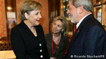 Brasilianischer Präsident Lula und Kanzlerin Merkel treffen sich in Wien beim Gipfel EU-Lateinamerika