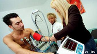 Belastung EKG