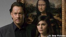 Robert Langdon (TOM HANKS) und Sophie Neveu (AUDREY TAUTOU) rätseln, welches Geheimnis die Mona Lisa verbirgt. © 2006 Sony Pictures Releasing GmbH
