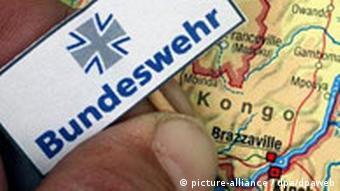 Bundeswehreinsatz im Kongo Symbolbild