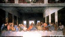 The Last Supper by Leonardo da Vinci, newly restored, Vinci, Italy, photo