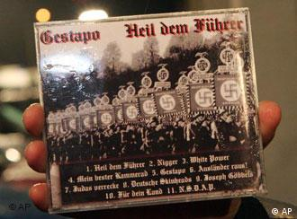 Neo-Nazi music CD