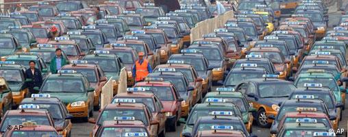 Taxis in China - Grossbild