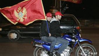 Montenegro wird unabhängig