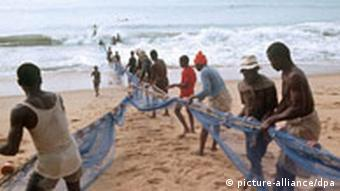 Fischfang in Togo