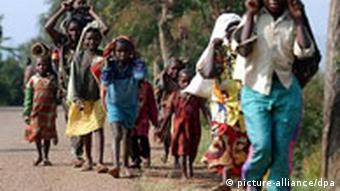Frauen und Kinder (Quelle: DPA)