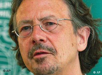 Peter Handke himself has refused to comment on the controversy