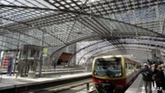 Berlin Lehrter train station