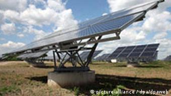 Inbetriebnahme Solarkraftwerk in Borna bei Leipzig