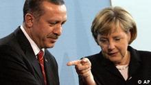 Deutschland Türkei Recep Erdogan in Berlin bei Angela Merkel