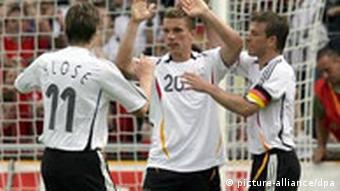 Fußball-Länderspiel Deutschland Luxemburg