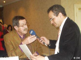 Mohamed Massad (DW-WORLD) entrevista Günter Grass