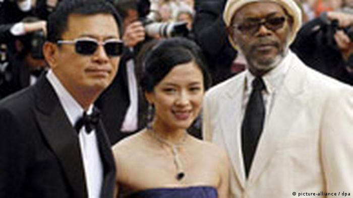 59. Filmfestival in Cannes - Wong und Jackson (picture-alliance / dpa)