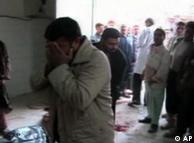 تصویر به دست آمده از یک نوار ویدئویی نشاندهنده قتل عامی است که در حدیثه رخ داد