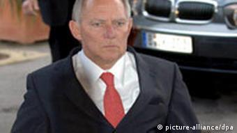 Innenminister-Treffen in Luxemburg - Schäuble
