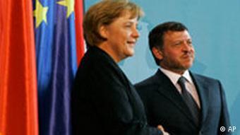 Deutschland Jordanien König Abdullah in Berlin