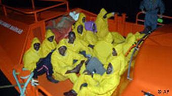 Flüchtlinge auf den Kanaren