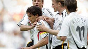Fussball-Länderspiel Deutschland-Kolumbien