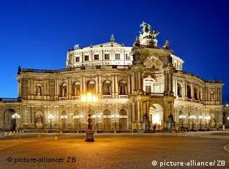 Semperoper en Dresden.