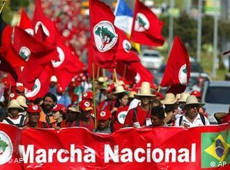Anhänger der Bewegung der landlosen Bauern