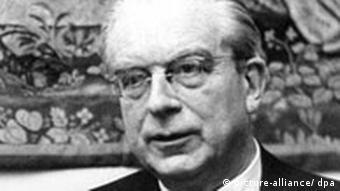 Der Staatssekretär Dr. Hans Globke (Foto: dpa)