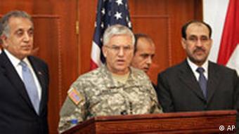 Terrorchef Sarkawi bei Luftangriff getötet Pressekonferenz