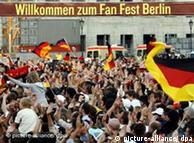 Thousands of German fans showing their true colors in Berlin