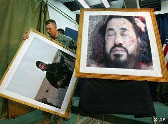 Fotografija ubijenog Zarqawija