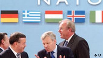 NATO Verteidigungsminister Treffen in Brüssel
