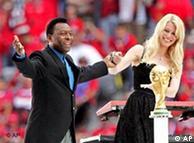 Pelé, Claudia y la Copa.