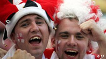 WM Fußball England Fans