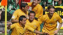 WM 2006 - Fußball Fussball WM06 Australien - Japan Spielszene