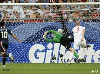Gillette logo at Soccer match