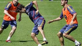 WM 2006 - Training Spanien, Raul Gonzalez