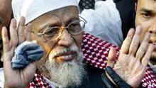Indonesien Islamistenführer Abu Bakar Bashi aus Haft entlassen (AP)