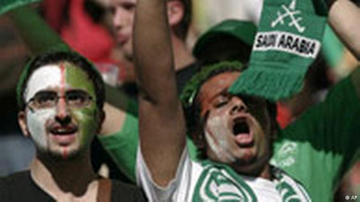 WM 2006 - Saudi-Arabien - Fans (AP)