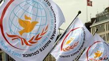 UN Menschenrechtsrat in Genf