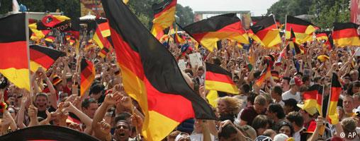 WM 2006 - Deutschland - Fans - Grossbild