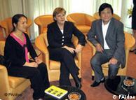 2006年5月26日,默克尔在中国会晤陈桂棣夫妇